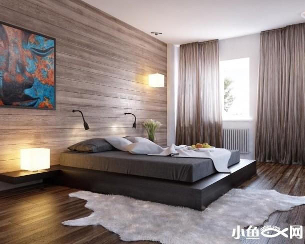 卧室效果图 极具典雅
