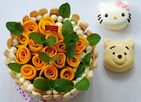 纸质手工蛋糕的制作方法及步骤