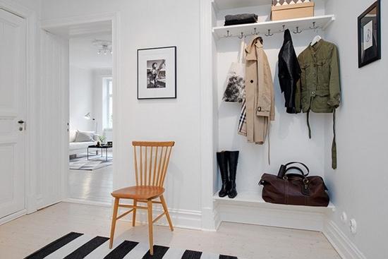 """""""一空间一重点"""" 瑞典2房现代公寓"""