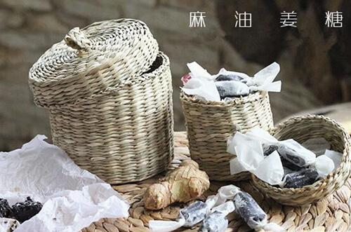 【小鱼食客】[鹿小厨]麻油姜糖——冬季养生糖