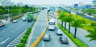 枋钟路成功大道口实行新交通组织方式
