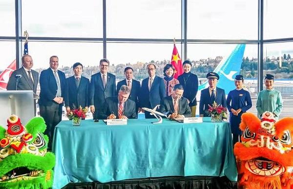 厦航接收中国民航第2000架波音飞机