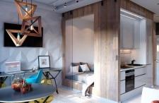 30㎡的单身公寓,设计感与实用性面面俱到,单身又何妨!