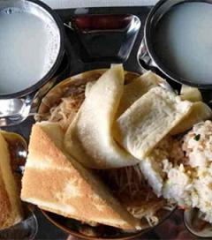 公司最近提供的超大份早餐可以啊!