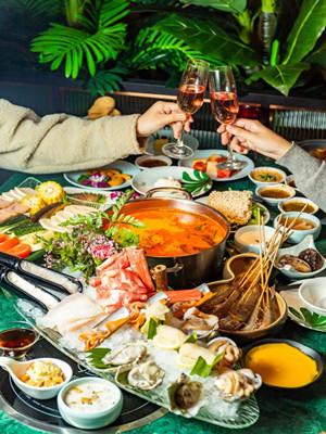 湖里万达惊现绝美「普吉岛」!会蹦迪的海鲜+无限量免费甜品,让你吃到扶墙出!