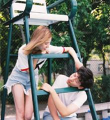 夏日情侣合照必备姿势