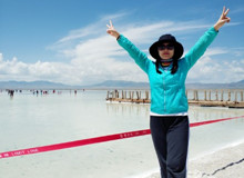茶卡盐湖之旅